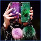 OPPO R17 R17 Pro R15 R15 Pro R11s Plus R11s 奢華毛絨殼 手機殼 全包邊 閃粉 支架 毛球