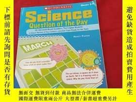二手書博民逛書店SCIENCE罕見QUESTION OF THE DAY【3--
