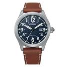 CITIZEN 星辰 光動能休閒 手錶 BM6838-33L 藍/42mm
