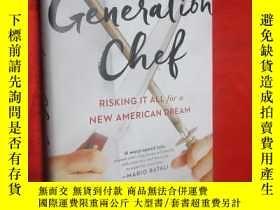 二手書博民逛書店Generation罕見Chef Risking It All