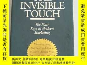 二手書博民逛書店THE罕見INVISIBLE TOUCHY238862 HARR