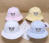 嬰兒帽寶寶帽子夏季男童厚款1-2歲3網眼涼帽女童遮陽帽防曬兒童漁夫帽潮