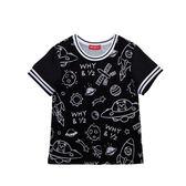 WHY AND 1/2 印花棉質T恤 11Y~14Y以上