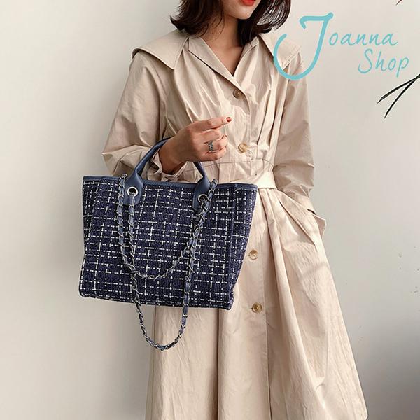 2020秋季飛鳥文新款雙用托特包時尚大容量手提包1-Joanna Shop