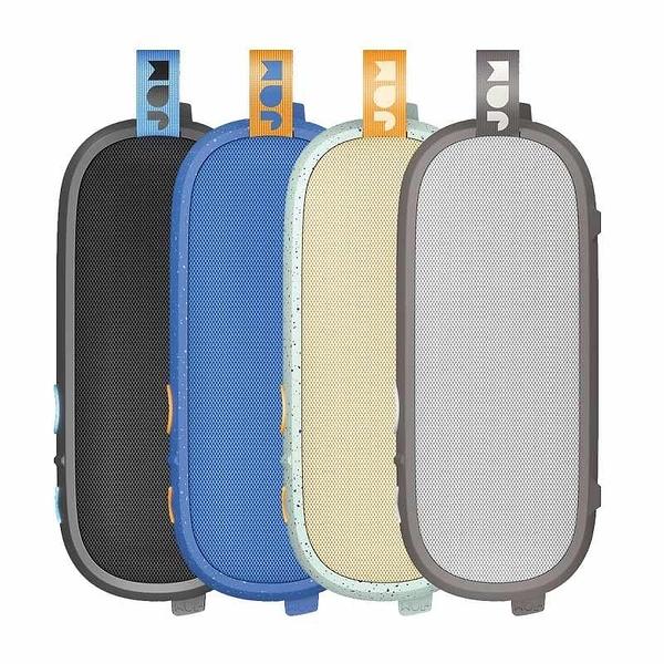 JAM Hang Around 便攜式藍芽揚聲器 20小時續航 USB 充電 IP67 黑/灰/藍/奶油白 [2美國直購]