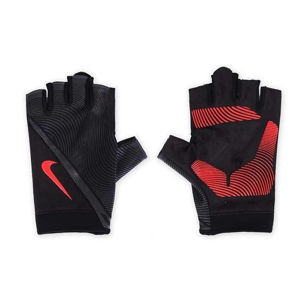 Nike Havoc Training Gloves [NLGB6053MD] 男 訓練 手套 自行車 透氣 貼合 黑紅