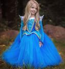 蘇菲亞公主裝藍 兒童造型服宮廷服白雪公主灰姑娘冰雪奇緣角色扮演道具萬聖誕節衣服cosplay