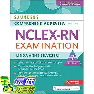 [美國直購] 美國暢銷書 Saunders Comprehensive Review for the NCLEX-RN Examination