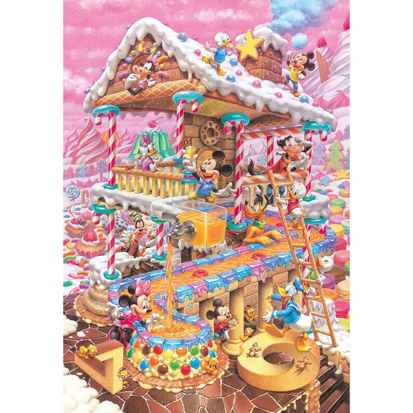 Tenyo拼圖 1000片 米奇有趣的糖果屋_BF94421