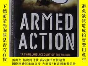 二手書博民逛書店英語原版罕見Armed Action by James Newt