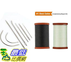 [美國直購] 最暢銷的室內裝飾維修套件 Coats Clark Extra Strong Upholstery Thread 1 Naturel Spool B016C39XW4