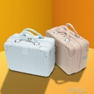 14寸化妝箱手提箱便攜小行李箱子迷你可愛旅行箱女新款化妝收納包 YJT 快速出貨