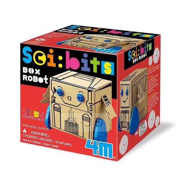 【4M】03419 科學探索系列-盒子。羅伯特 Box Robot