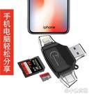 蘋果手機相機直傳多功能轉換讀卡器插sd的tf 安卓iphone用導 洛小仙女鞋