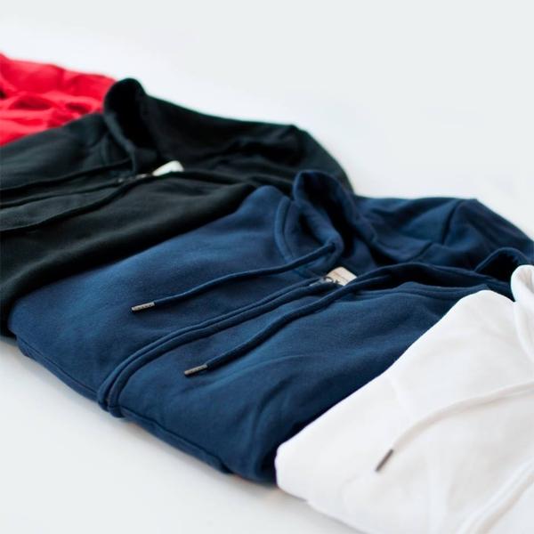 Teelocker 純色精梳棉刷毛素色 連帽外套 男女可穿 港牌【290CZ】