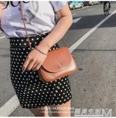 上新包包女新款簡約復古小方包大氣百搭單肩包迷你時尚斜背包  遇見生活