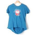 【Dailo】小鳥造型T恤-藍 1060...