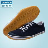 迪卡儂羽毛球鞋男鞋女鞋板鞋復古休閒鞋小白鞋低幫運動鞋PERFLY