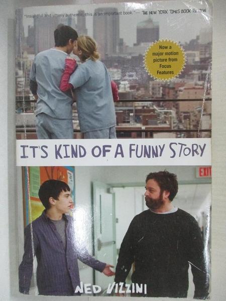 【書寶二手書T4/原文小說_H62】It's Kind of A Funny Story_Vizzini, Ned