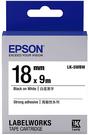 LK-5WBW EPSON 標籤帶 (白底黑字/18mm) C53S655409