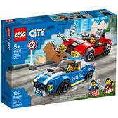 樂高積木 LEGO《 LT60242》City 城市系列 - Police Highway Arrest╭★ JOYBUS玩具百貨