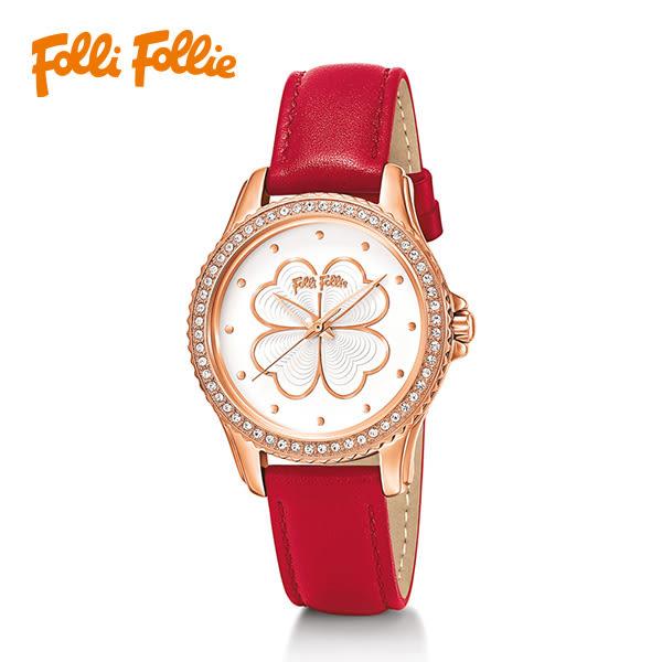 Folli Follie Hear4Heart Crystal Nappa系列腕錶