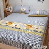 全棉床單床笠單件純棉防滑床墊罩保護套全包1.5米1.2兒童床罩春秋 名購新品