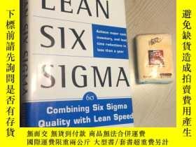 二手書博民逛書店Lean罕見Six Sigma COMBINING SIX SI