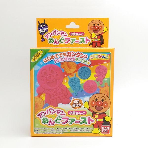 日本BANDAI  ANPANMAN 麵包超人 黏土印章 小麥黏土 黏土壓模玩具 模型 模具