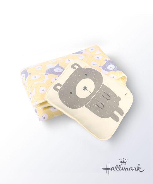 Hallmark Babies小熊純棉加厚夾棉枕頭被 HG3-F01-L1-LU-MY