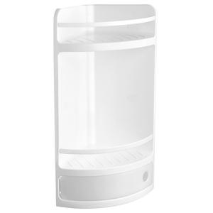 西班牙 TATAY 雙層浴室轉角櫃 附抽屜 白色款 型號4432001
