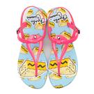 女款 蔚蔚藍天海邊 夏日必備 海灘涼鞋 防水涼鞋 夾腳涼鞋 桃色 MIT 59鞋廊