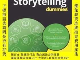 二手書博民逛書店Storytelling罕見für DummiesY410016 Petra Winkler ISBN:97