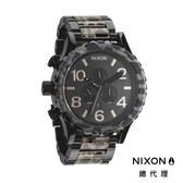 【酷伯史東】NIXON 51-30 時尚霸氣 豹紋 潛水錶 潮人裝備 潮人態度 禮物首選
