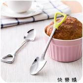 不銹鋼長柄勺子創意鐵鍬飯勺