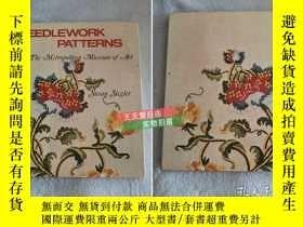 二手書博民逛書店英文原版Needlework罕見Patterns from Th