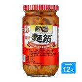 金蘭香菇麵筋396g*12【愛買】