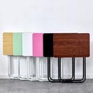 折疊桌 小桌子家用學習書桌單人吃飯餐桌便...