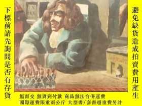 二手書博民逛書店Gulliver's罕見Travels《格列佛遊記》 Aldren Watson彩色插圖,布面精裝帶護封,1947