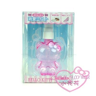 小花花日本精品Hello Kitty粉紅全身造型香氛除臭噴霧 衣服頭髮鞋子異味除去方便必備56963700