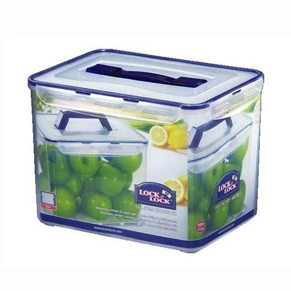 樂扣樂扣手提式密封盒保鮮盒12L收納箱米箱米桶HPL889-大廚師百貨