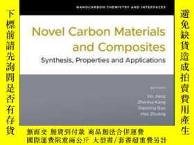 二手書博民逛書店Novel罕見Carbon Materials and Composites: Synthesis, Proper