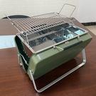 迷你燒烤架戶外折疊便攜木炭燒烤爐家用2人小型不銹鋼烤肉工具