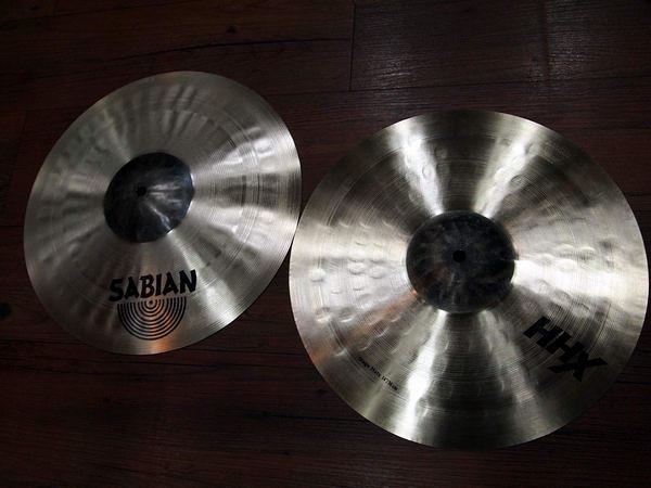 凱傑樂器 年底特惠出清 SABIAN 14吋 HHX STAGE HIT HATS 銅鈸