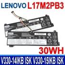 LENOVO L17M2PB3 2芯 電池 5B10P53995 5B10R32998 L17C2PB3 L17C2PB4 L17L2PB3 L17L2PB4 L17M2PB4 V130-15IGM