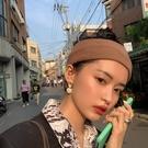 髮帶 發帶女韓國寬邊頭飾秋冬潮針織毛線頭...