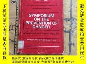 二手書博民逛書店Symposium罕見ON THE Prevention of