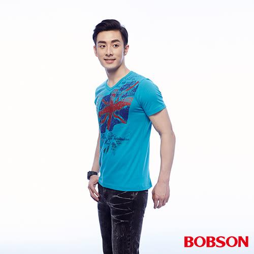 BOBSON 男款印圖上衣(24039-59)