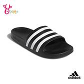 adidas ADILETTE AQUA SLIDES 大童 成人女款 防水拖鞋 R9394#黑色◆OSOME奧森鞋業