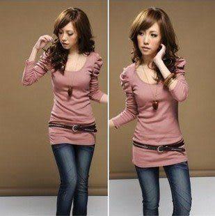 女裝韓版長袖t恤